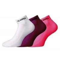 Comfort socks short 3 pack